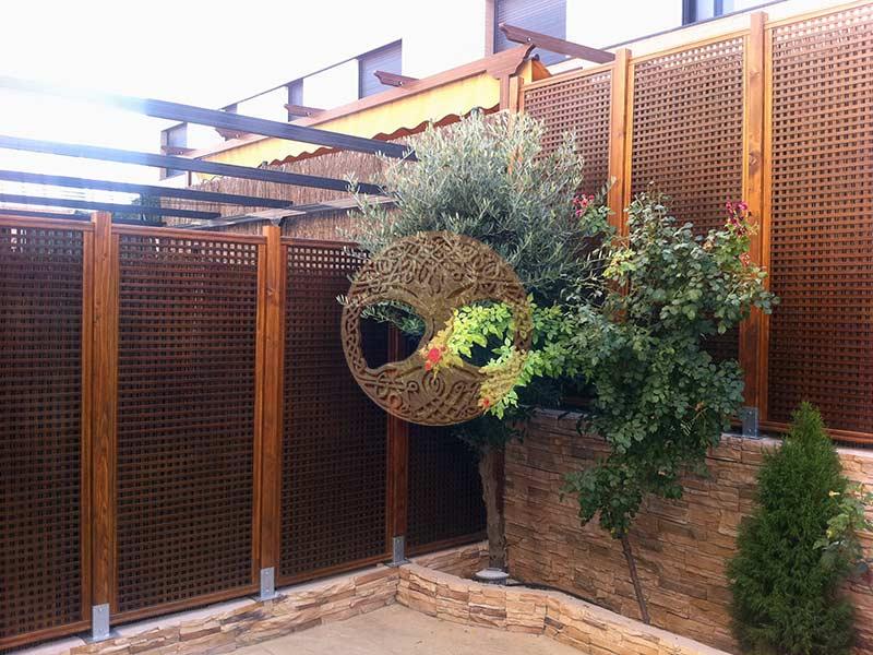 Celosias para terrazas paneles de celosias para for Celosias para jardin